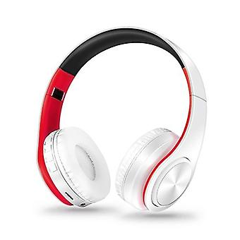 Hifi Stereo Earphones, Bluetooth Headphone- Music Headset Fm And Support Sd