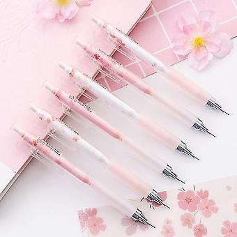 Lovely Cherry Blossoms Automatic Pencil Student Stationery