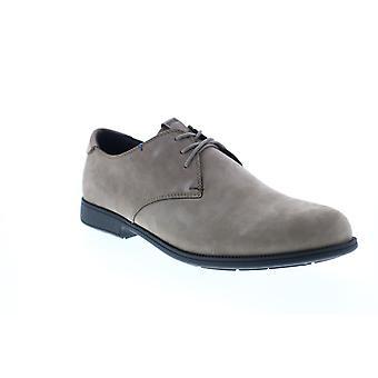 Camper 1913  Mens Gray Nubuck Oxfords & Lace Ups Plain Toe Shoes