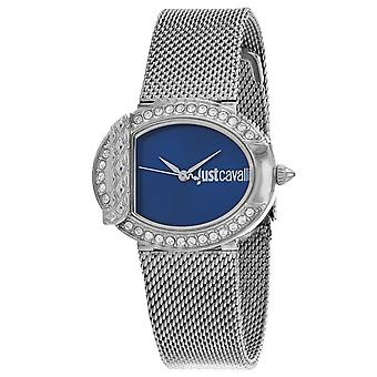 Just Cavalli Women's C Blue Dial Watch - JC1L110M0075