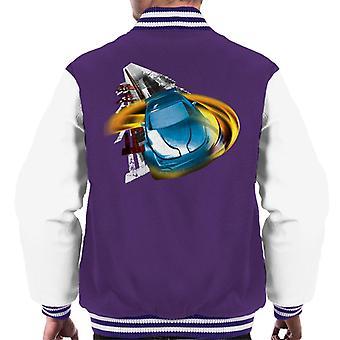 Fast and Furious Tokyo Drift Headlight Blur Men's Varsity Jacket