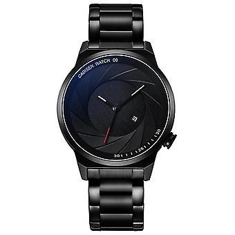 Creatieve Camera Diafragma Dial Verschillende Bandjes Mannen Fashion Watch Quartz Horloge