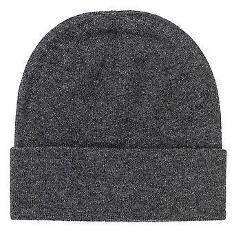Johnstons of Elgin Double Jersey Hat - Dark Granite Grey