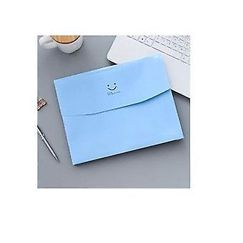 Smile Face File Folder Document Bag Papieren Opslaghouder