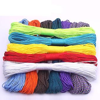 100-colors Paracord 2-mm 100ft/50ft One-stand Cores Paracord-rope For Jewelry