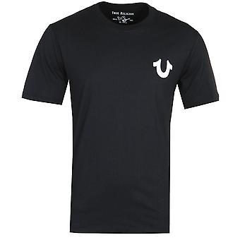 True Religion Logo Musta T-paita