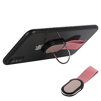 Universal Sormihihna Kahva Itsepidike Matkapuhelinteline, iPadille, iPhonelle, Galaxylle, Huaweille, Xiaomille, LG: lle, HTC: lle ja muille älypuhelimille (Rose Gold)
