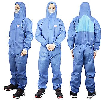 3m4532 4515 Protective Clothing Siamese Dust-proof Work Clothes Hooded Anti-static Paint Chemical Protective Clothing Dust-free Clothing