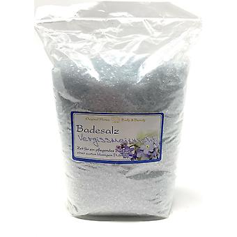 Florex bath salts Bath additive Forget-me-not for a delicate floral nursing bath 1kg