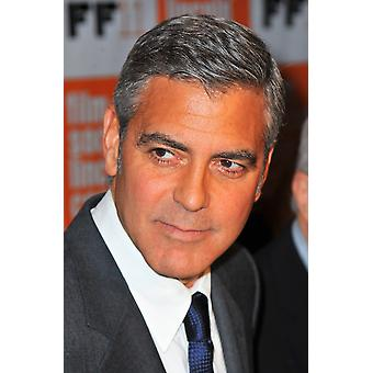 George Clooney At Arrivals For The Descendants Gala Premiere Screening At The 49Th New York Film Festival Print