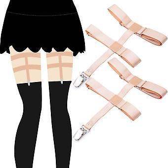 Neue Design Frauen Strümpfe bleiben Strumpfhosen Hosenträger für Knie hohe Socken Bein