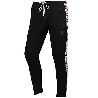 Puma SWASH Mens Track Bottoms Joggers Trousers Sweat Pants Black 569351 01 CC14