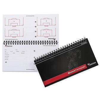 Precision Slimline Scouts Football Notepad (Pack of 6)