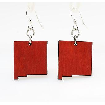 New Mexico State Earrings - S031