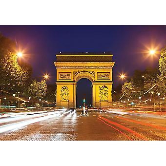 Fondo de pantalla Mural Arco del Triunfo en París