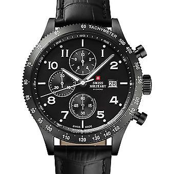 Reloj masculino militar suizo por Chrono SM34084.07, cuarzo, 42 mm, 10ATM