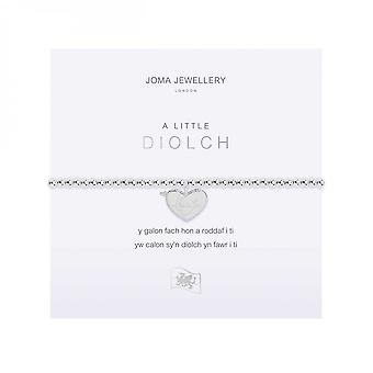 Joma Jewellery A Little Thank You Silver 17.5cm Stretch Bracelet 4020