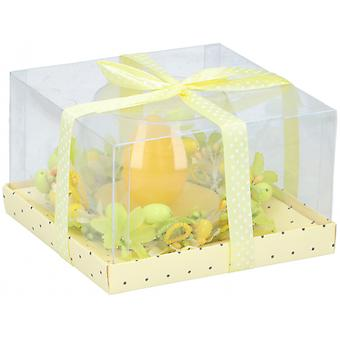 Candle In Glass Easter Egg Bt387866