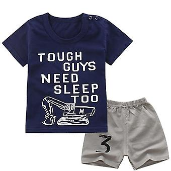 Tough Guys T-paita ja shortsit Set
