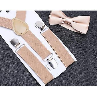 Einstellbare Hosenträger Baby Hochzeit Krawatten