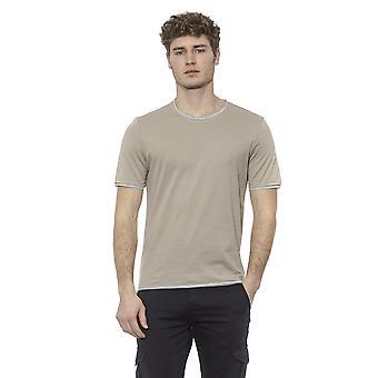 T-Shirt Beige Alpha Studio Mann