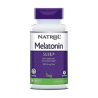 Melatonin Time Release, 1mg 90 tablets