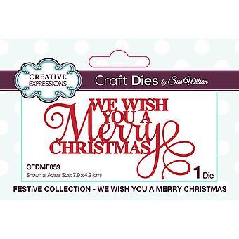 Kreative Ausdrücke Weihnachten - festliche Sammlung schneiden stirbt - wir wünschen Ihnen ein frohes Weihnachtsfest