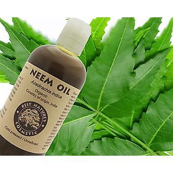 100% Pure Virgin Neem Oil (organisk, ufortynnet