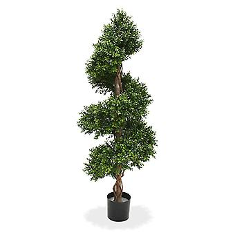 Artificial Boxwood Spiral Deluxe 140 cm