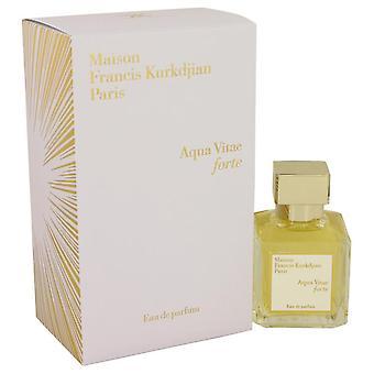 Aqua Vitae Forte Eau De Parfum Spray By Maison Francis Kurkdjian 2.4 oz Eau De Parfum Spray