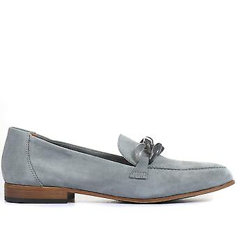 Jones Bootmaker Womens Hawk Leather Loafers