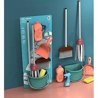 Simulação Play House Toy- and Training Cleaning Tool Set