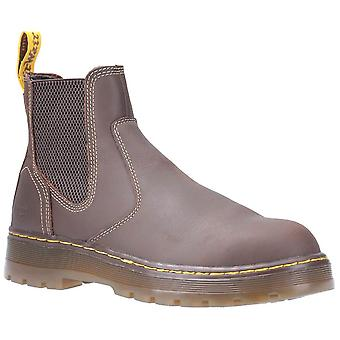 Dr martens eaves sb elasticated safety boots mens