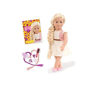 Our generation phoebe hairgrow doll (from hair to there)
