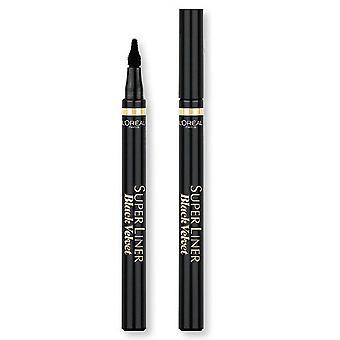 L'Oreal Super Liner Black Velvet Eyeliner - Extra Black