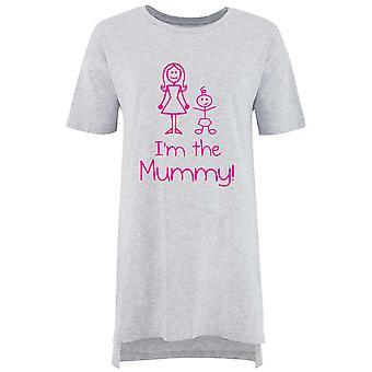 I'm The Mummy Ladies Nightie Slogan