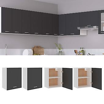 Hanging Cabinets 2 Pcs Grey 50x31x60 Cm Chipboard