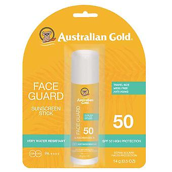 Australske Gold Protector Solar en Barra con Protección Facial spf50 14 gr