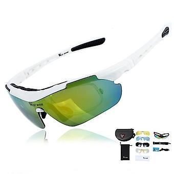 Polariserte sykkelbriller