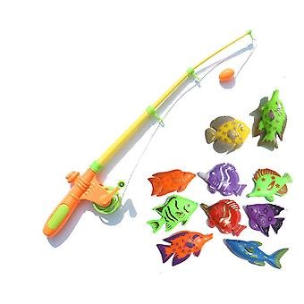Magnetic Fishing Toy-simulation Télescopique Rod And Fishes