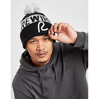New Rewired Men's Bobble Hat from JD Outlet Black