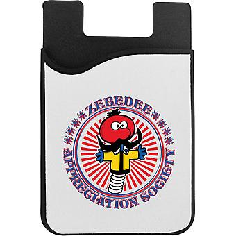 The Magic Roundabout Zebedee Appreciation Society Phone Card Holder