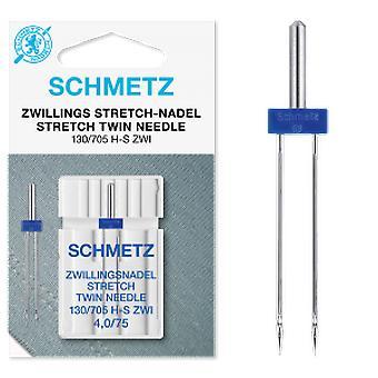 Schmetz Sewing Machine Needle - Stretch Twin (Various Sizes)