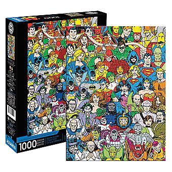 Dc comics - retro cast 1000pc puzzle