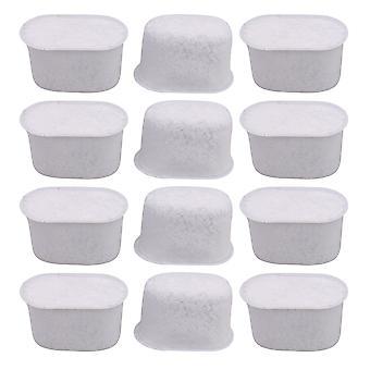 12 piezas activadas purificación de carbón blanco reemplazo para Keurig