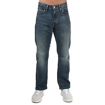 Men's Levis 514 Flex Orinda Straight Fit Jeans in Blau