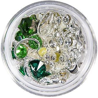 Dekorationer - Mix - Silver - 11 - Erinite