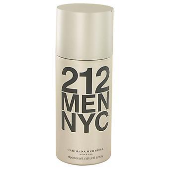 212 tekijä Carolina Herrera Deodorant Spray 5 oz