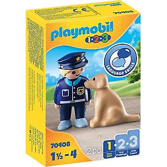 123 Police Officer With Dog USA import