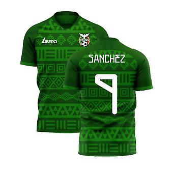 Mexico 2020-2021 Home Concept Football Kit (Libero) (SANCHEZ 9)